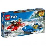Set de constructie LEGO City Evadare pe Rau