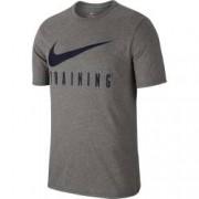 Tricou barbati Nike NK DRY TEE NIKE TRAIN gri XL