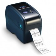 Imprimanta de etichete TSC TTP-323, serial, albastra