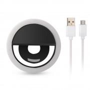 Aankomen USB Lading Selfie Draagbare Flash Led Camera Telefoon Fotografie Ring Licht Enhancing Fotografie voor iPhone Smartphone