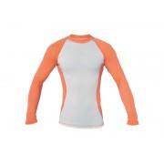 Blue Fly   Termo PRO dlhý rukáv Biela / Oranžová L