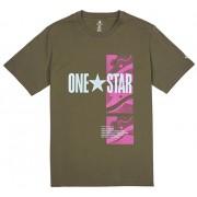 Tricou pentru bărbați Converse One Star Photo Short Sleeve Tee Field Surplus M