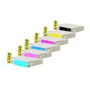 Epson T0801-T0806 промо пакет (BK,C,M,Y,PC,PM) 6бр.