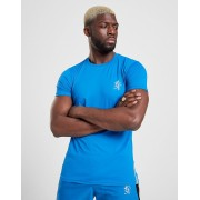 Gym King Short Sleeve Poly T-Shirt - Blauw - Heren