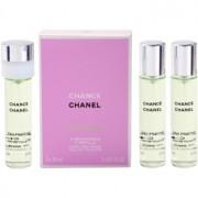 Chanel Chance Eau Fraîche eau de toilette para mujer 3x20 ml (3x recambio)