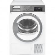 SMEG DHT83LIT-1 Asciugatrice a pompa di calore 8Kg Argento Bianco Classe A+++