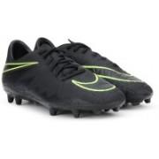 Nike HYPERVENOM PHELON II FG Football Shoes(Black)