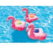 Intex rózsaszín flamingós italtartó készlet 3db/cs 57500NP