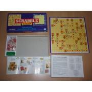 Ancien Scrabble Junior Deux Jeux En Un