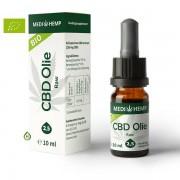 Medihemp Raw CBD olie 2.5% - 10ml