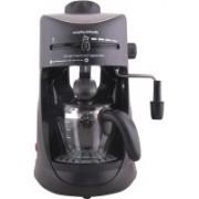 Morphy Richards Europa Espresso / Cappuccino 4 Cups Coffee Maker(Black)