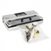 Klarstein FoodLocker 650 уред за вакуумиране 650W незабавно запечатване неръждаема стомана сребрист (SLL3-FoodLocker 650)