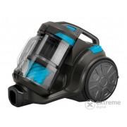 Aspirator fără sac Sencor SVC 1086TQ 4AAAAEcoPower, negru/albastru