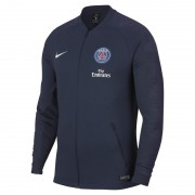 Paris Saint-Germain Anthem Herren-Fußballjacke - Blau