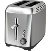 Black & Decker 4PADJYSQPQFP 500 W Pop Up Toaster(Silver)