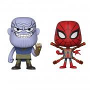 Vynl. Marvel Thanos and Iron Spider Vynl.
