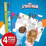 Disney. Spider-Man. Lumea Magica A Culorilor. 4 Megaplanse