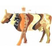Obiect Decorativ Personalizat Vacuta Cafea cu Lapte Cadou Deosebit Glumet Amuzant Hazliu