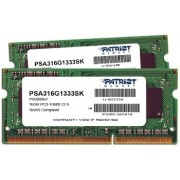 Kit Memorie Laptop Patriot Signature Apple 16GB (2x8GB) DDR3 1333MHz CL9