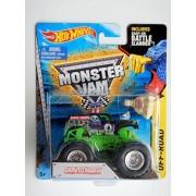 Hot Wheels Monster Jam Truck Grave Digger #1 - Includes Battle Slammer! 1:64