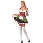Vegaoo Serveerster dirndl jurk voor vrouwen M (40/42)