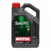MOTUL Specific CNG/LPG 5W-40 5L motorolaj