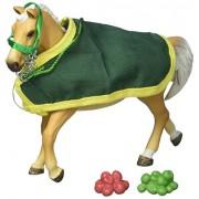 Schleich Trakehner Stallion with Blanket Figurine Toy, Multicolor