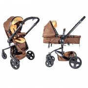 Primebebe kolica 2u1 Latitud Brown