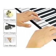 Piano en rouleau souple (Clavier Synthetiseur avec touches programmables)