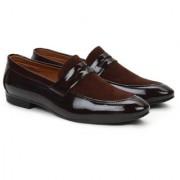 Buwch Men Brown Loafer Mocassin Shoe
