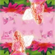 Barbie 40x Barbie themafeest servetten roze 33 x 33 cm papier