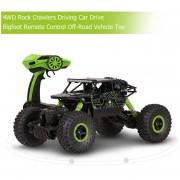EH Orugas Rock 4WD Coche Duro Bigfoot Control Remoto Del Vehículo Todo Terreno - Verde