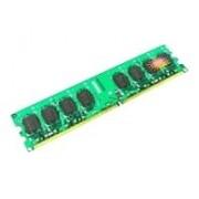 Transcend - DDR2 - 512 Mo - DIMM 240 broches - 800 MHz / PC2-6400 - CL5 - 1.8 V - mémoire sans tampon - non ECC - pour ASUS M2N-SLI Deluxe; MSI K9N Diamond, K9N Neo-F, K9N Platinum, K9N SLI...