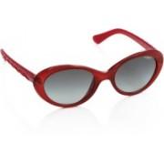 Vogue Oval Sunglasses(Grey)