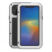 LOVE MEI Shockproof Dustproof Case for iPhone 11 Pro Max 6.5 inch - Silver