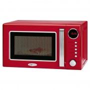 Clatronic MWG 790 Rock&Retro Micro-ondas com Grill 20L 700W Vermelho