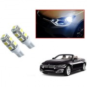 Auto Addict Car T10 9 SMD Headlight LED Bulb for Headlights Parking Light Number Plate Light Indicator Light For BMW 4 Series