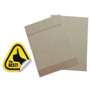 PLIC B4 CU BURDUF SILICONIC (250x353x50 mm) 130 g/mp MARO, 250 buc maro Plic cu burduf B4 (250x353 mm) Siliconic 130 g/mp