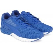 Puma IGNITE Dual Mesh Running Shoes For Men(Blue)