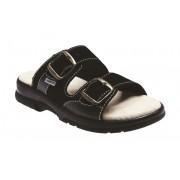 Zdravotní pantofle Sante N/517/SanSante N/517/33/68/CP černé