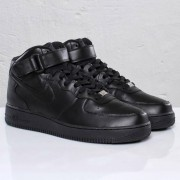 Nike Air Force 1 Mid â´07 Black/Black