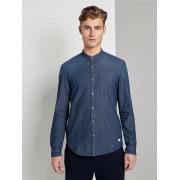 TOM TAILOR DENIM Spijkeroverhemd met borstzak, Rinsed Blue Denim, L