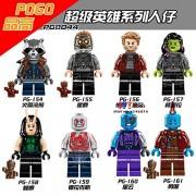 Generic 8pcs Star Wars Super Hero Han Solo Kylo ren Orphee Ray Mandalorian Solider Kits Building Blocks Bricks Toy for Children juguetes PG8044