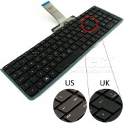 Tastatura Laptop Hp Compaq Envy 17-3020en layout UK + CADOU