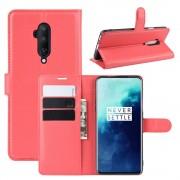 CHUMDIY Téléphone Portefeuille De Téléphone En Cuir PU Stand Pour OnePlus 7T Pro