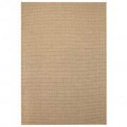 vidaXL bézs, szizál hatású beltéri/kültéri szőnyeg 160 x 230 cm