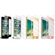 Стъклен протектор със заоблена фаска за Apple iPhone 7 Plus / iPhone 8 Plus (Темперирано закалено стъкло) 'Full screen 3D'
