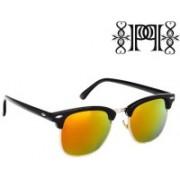 Poloport Wayfarer Sunglasses(Yellow, Green)