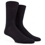 Doré Doré Sokken Rib Sock Mixed Wool Zwart / male