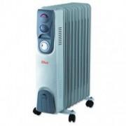 Calorifer electric cu timer ZILAN ZLN-9225 9 elementi Putere 2000 W 3 trepte de putere Termostat de siguranta Termostat reglabil